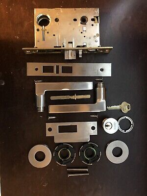 Fsb Mortise Lock Set With Corbin Russwin Cylinder And Key