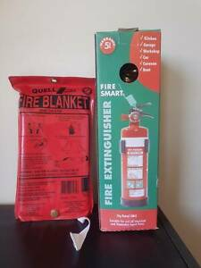 Fire Extinguisher & Fire Blanket