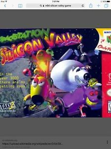 """Wanted- N64 """"Silicon  Valley"""""""
