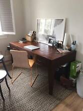 Beautiful solid wooden writers desk - must be sold before May 4th Bondi Beach Eastern Suburbs Preview