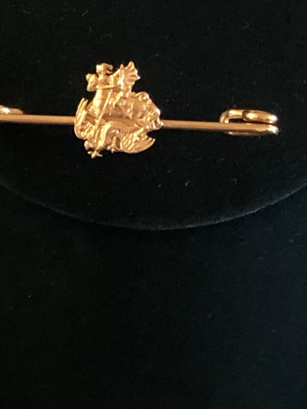Russian Antique Bar Pin or Tie Pin