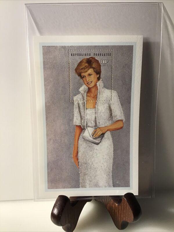 International Collectors Society Princess Diana White Jacket Togo 1997 Stamp
