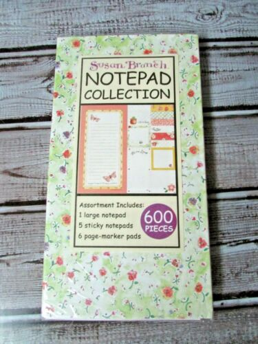 NEW Susan Branch Notepad Collection 600 Piece Assortment