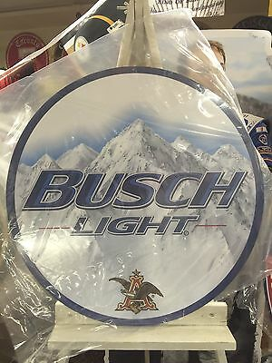 busch light Beer Sign