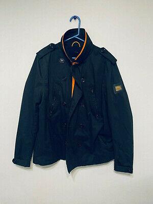 Superdry Short Trench Black Jacket XXL
