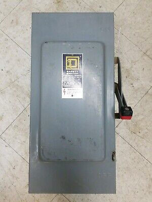Square D H223n Heavy Duty Safety Switch