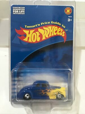 Hot Wheels Tomart's Price Guide Blue '40 Ford Coupe (Rare)