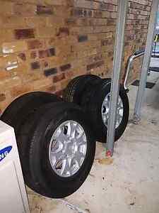 Ford ranger px mk2 wheels Kallangur Pine Rivers Area Preview