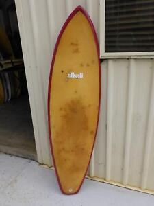 Vintage 6' No Name Single Fin Surfboard