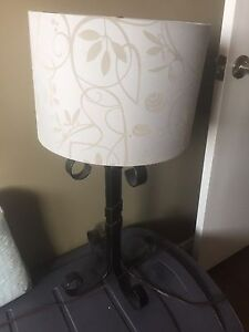 Lamp (shade not included)