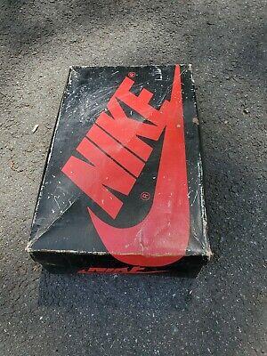 Nike Air/Sky Jordan 1985 OG High Chicago 8435  W/BLK/R size 6 BOX ONLY!!!!