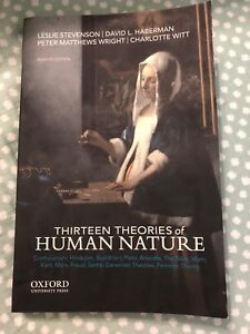 Philosophy textbook (thirteen theories of Human nature)