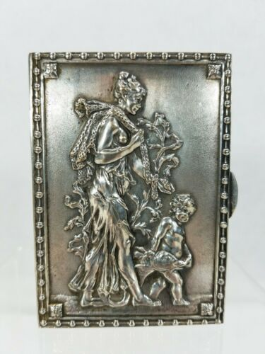 Antique Continental Silver Repousse