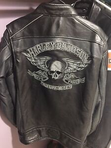 Men's leather jackets XLT