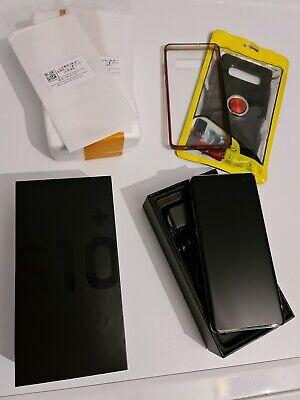Samsung Galaxy S10+ SM-G975F - 512GB - Ceramic Black (Ohne Simlock) (Dual-SIM) segunda mano  Embacar hacia Argentina