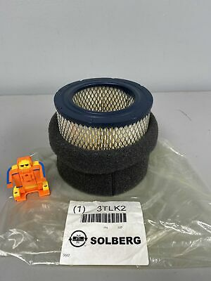 Solberg 3tlk2 Paper Replacement Filter Element Lot Of 2 Filters