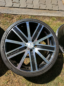 """Commodore 20's 20x8"""" mags alloy wheels might suit BMW also Hobart CBD Hobart City Preview"""