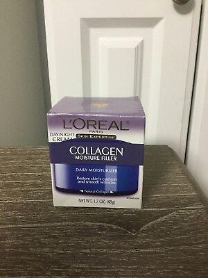 L'oreal Skin Expertise Collagen Moisture Filler Day/night Cream 1.7oz NIB  Collagen Moisture Filler