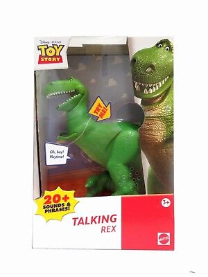 Toy Story REX (dinosaur) TALKING Action Figure Boxed Packaging