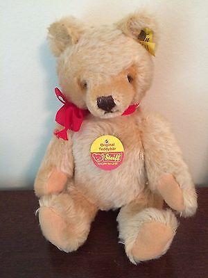 Steiff Classic Jointed Beige Teddy Bear Mohair 10