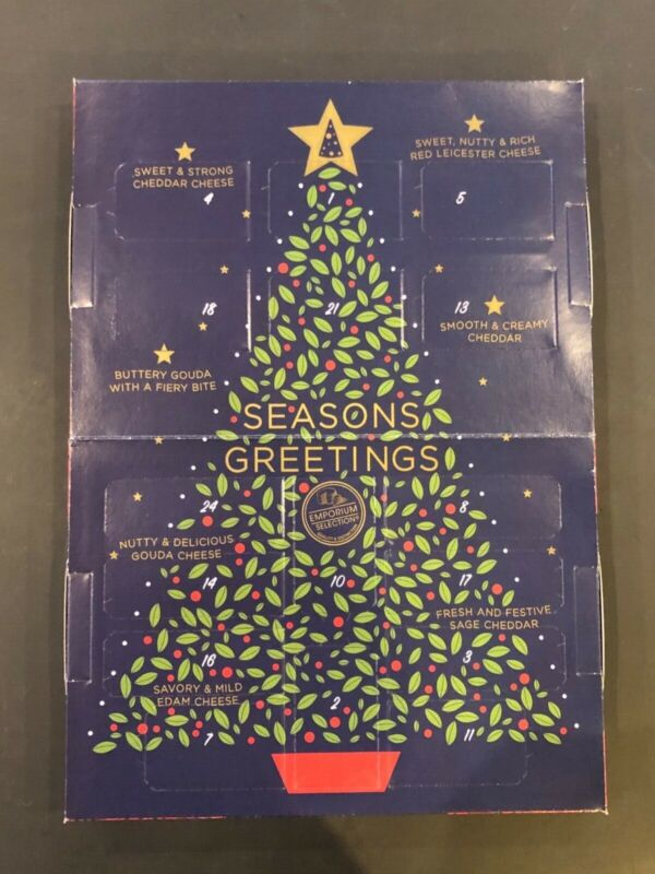 Aldi Cheese Advent Calendar NEW 2020 Countdown 24 Days To Christmas SOLD OUT!