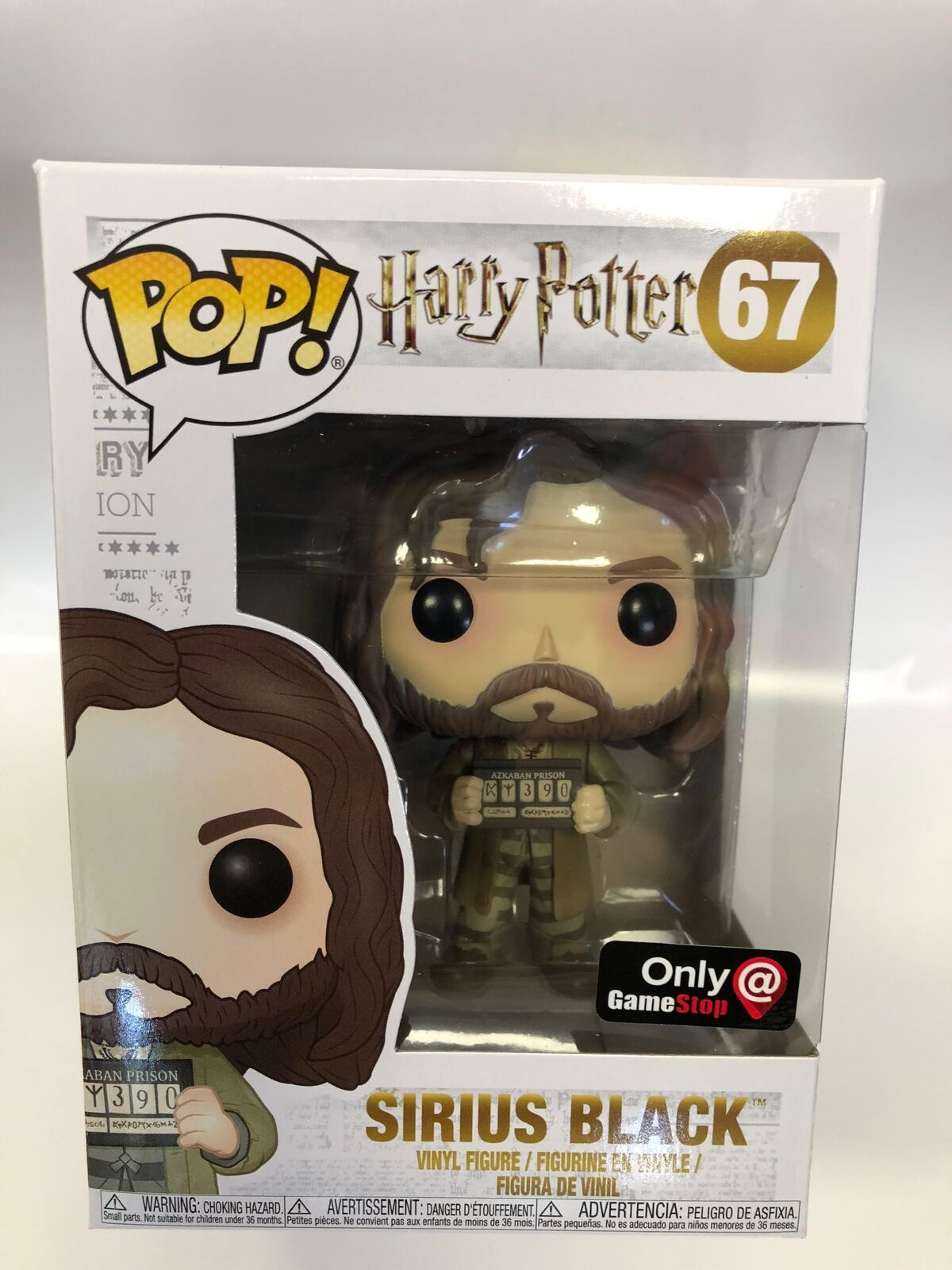 21a007fed19 Harry Potter Sirius Black Gamestop Funko Pop  67 for sale online