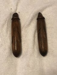 Vintage Hand Carved Cuckoo Clock Wooden weights 1320 gram for 8 day