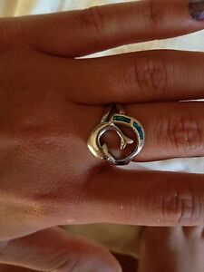 sterling silver dolphin ring Medowie Port Stephens Area Preview