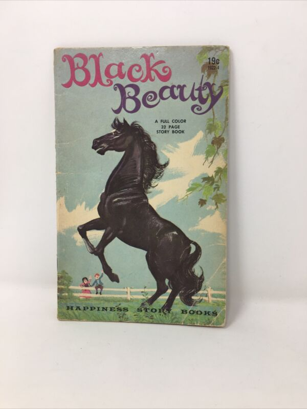 Black Beauty Horse Story Book Ozni Brown 1955 Sewell Retold Merrylegs Ginger
