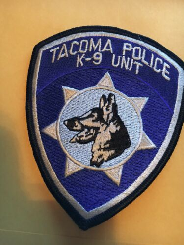 Tacoma Washington K-9  Police patch Canine
