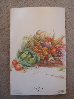 Vintage 1980-90's FALL HARVEST Vegetables LAP PACK HALLMARK Stationery - Fall Stationery