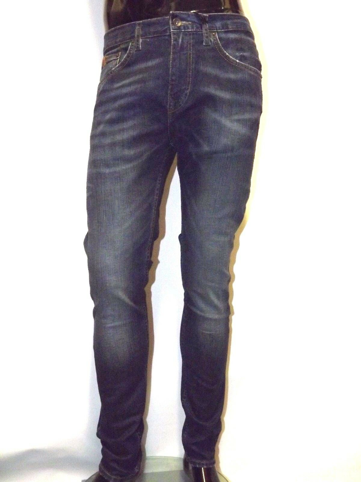 BEN SHERMAN JEANS THE DINGLLEY MG10555 SKINNY LEG 28 29 32 DENIM STONE WASH