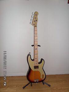 Blues Caster Bass