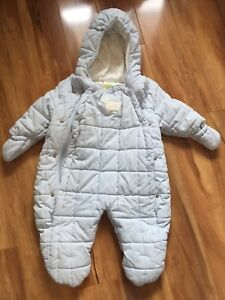 Baby boy  snow suits and Columbia hat