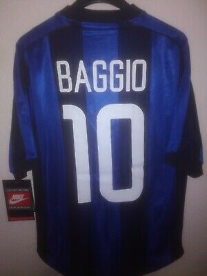INTER MILAN 1999-2000 Roberto Baggio 10 BNWT camiseta shirt trikot maillot