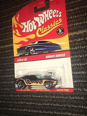 HOT WHEELS 2006 CLASSICS SERIES 3 RODGER DODGER RIM ERROR VARIATION CHASE