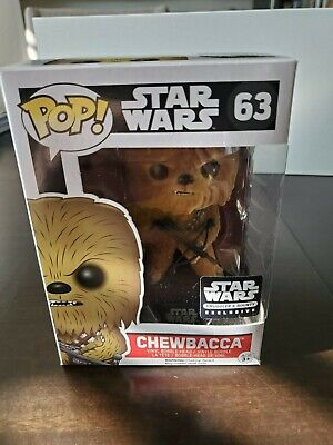 Star Wars Chewbacca #63 Funko Pop! Smuggler's Bounty Exclusive USED