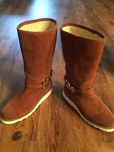 COACH VIRTUE SUEDE BOOTS