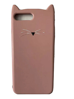Kate Spade Floral Protective Case Cover iPhone 8 Plus Cat Pink