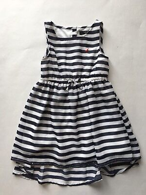 NWOT Nautica Infant Girls  Dress W/ Diaper Cover Sz 12 M