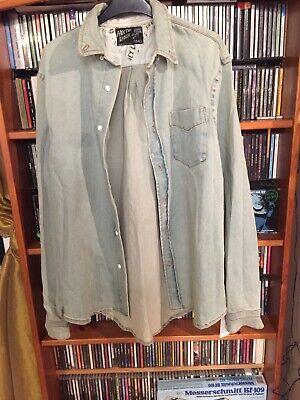 Hoxton Slacker Mens Denim Shirt/jacket Size S Bnwt Rrp £65