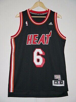 Adidas LeBron James NBA Miami Heat Hardwood Classics HWC Swingman Jersey