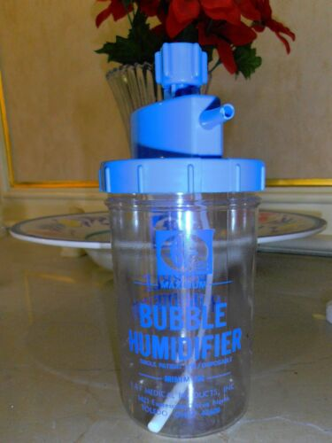 Bubble Humidifier disposable container B&F