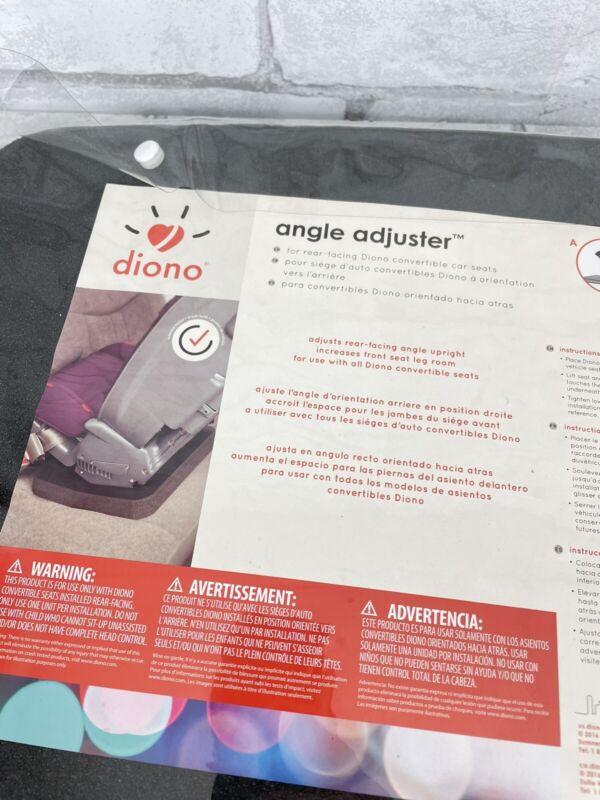 New! Diono Rear Facing Car Seat Black Foam Angle Adjuster