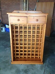Wood Wine Cabinet - Need Gone Leederville Vincent Area Preview