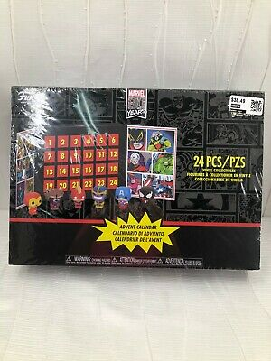 Funko Marvel Comics Mini Figures Advent Calendar 24 pcs New