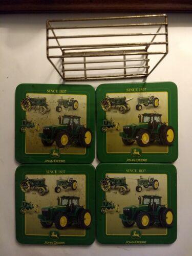 John Deere Coasters W Holder