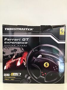 Ferrari GT Experience Racing Wheel (used only a few times) O'Connor Fremantle Area Preview