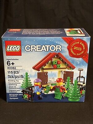 LEGO Creator Christmas Tree Shop. 2013 Limited Edition. 40082 Retired. BRAND NEW