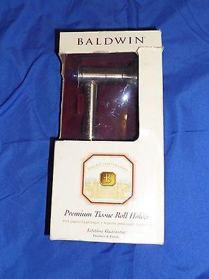 BALDWIN Napoli Chain ROLL TOILET PAPER HOLDER 3403-150 Satin Nickel